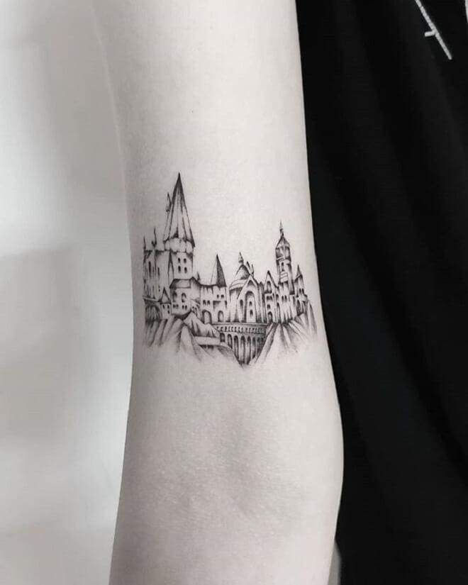 Best Castle Tattoo