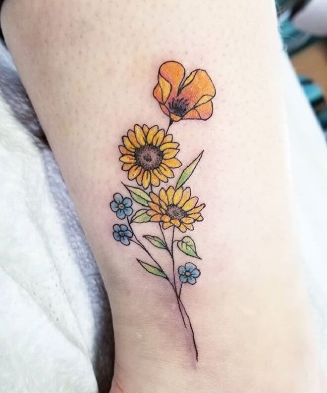Best Forget Me Not Tattoo