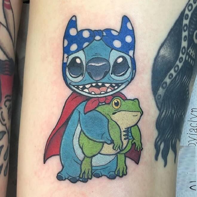 Best Lilo and Stitch Tattoo