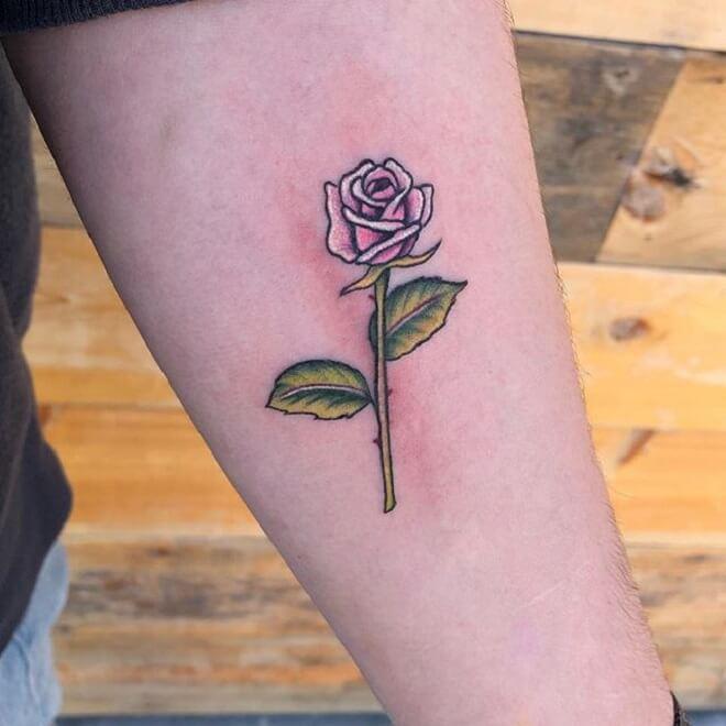 Best Small Flower Tattoo