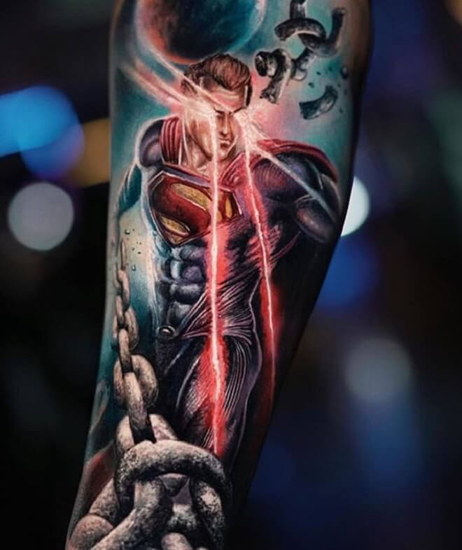 Best Superhero Tattoo