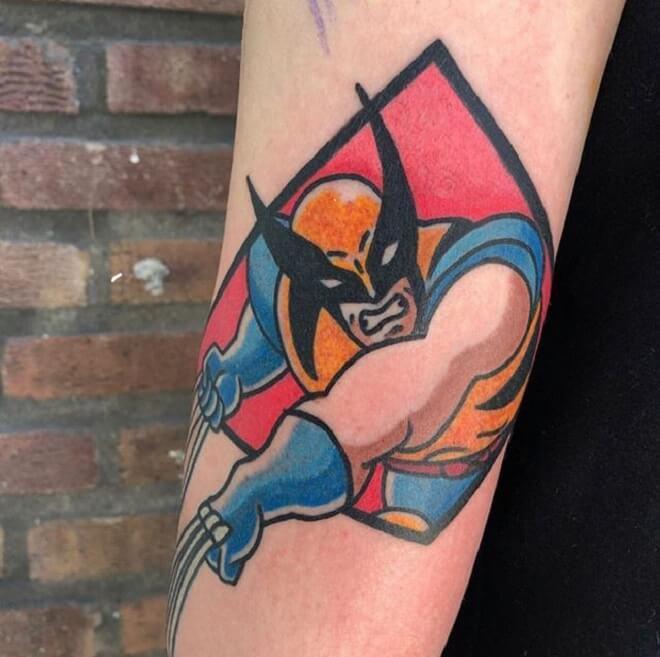 Best Wolverine Tattoo