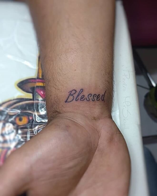 Blessed Tattoo
