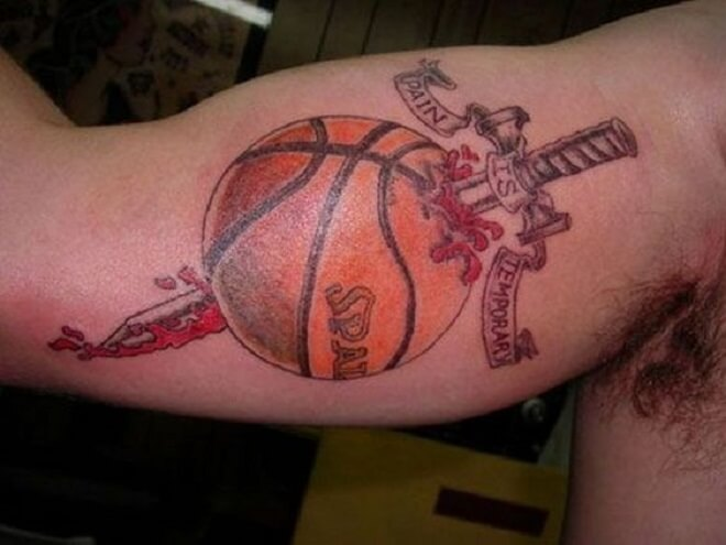 Body Basketball Tattoo