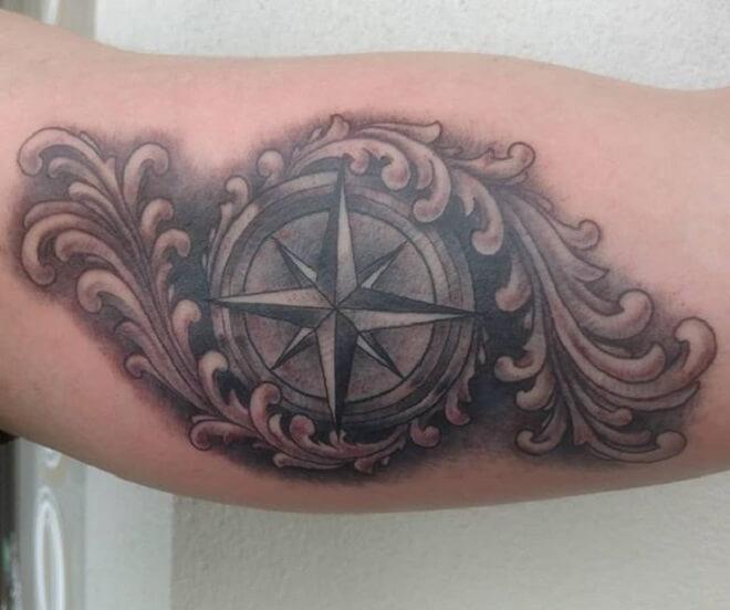 Body Filigree Tattoo