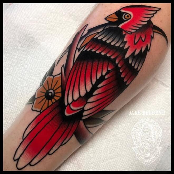 Cardinal Tattoo Art