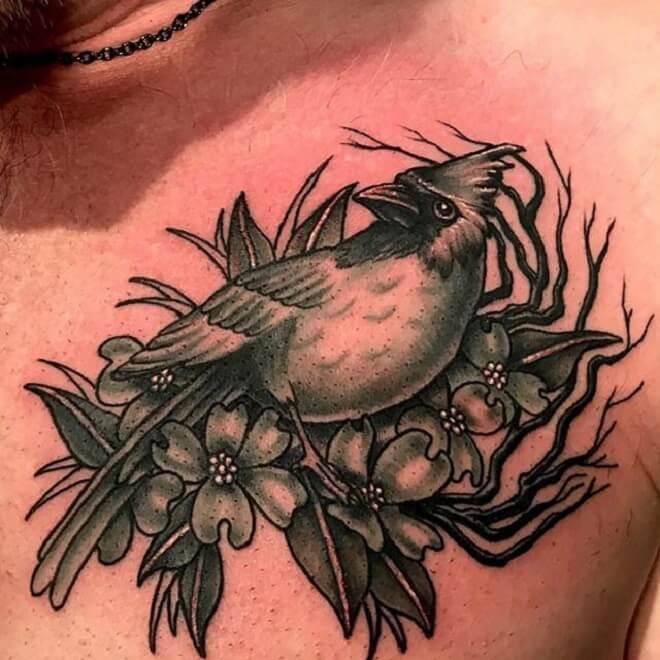 Cardinal Tattoo Ideas