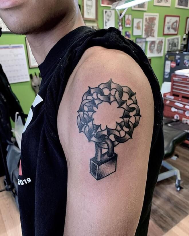 Chain Tattoo for Men
