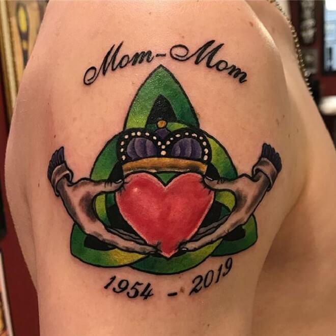 Claddagh Tattoo Work