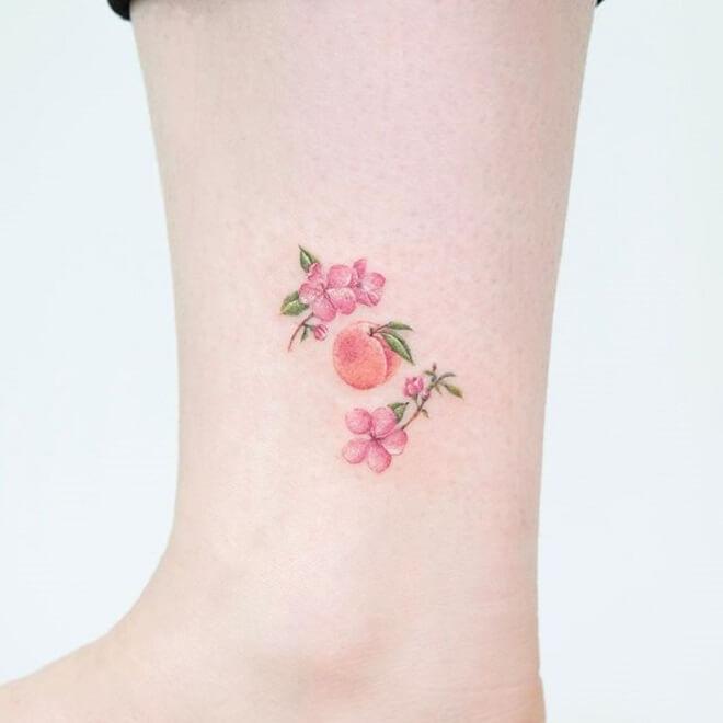 Cool Peach Tattoo