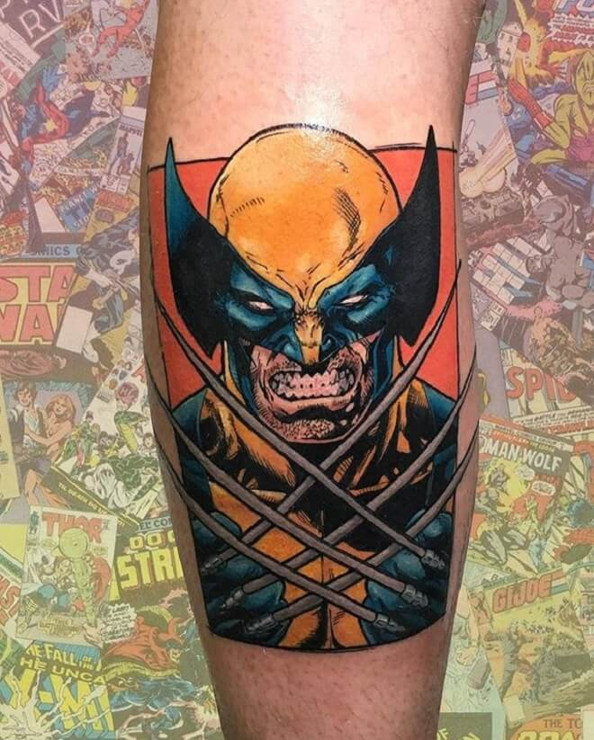 Dangerous Wolverine Tattoo