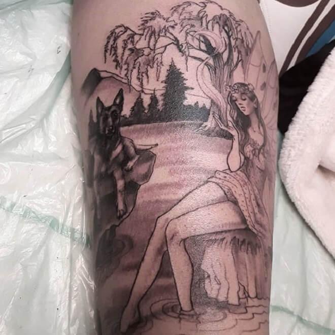 Fairy Tattoo Artist
