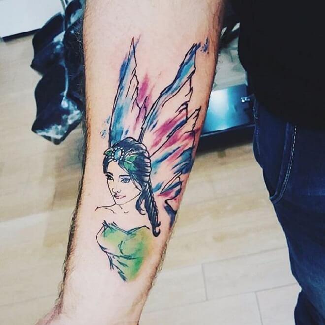 Fairy Tattoo Style