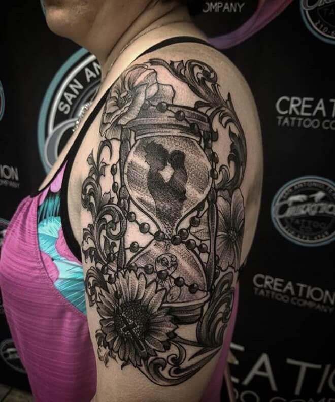 Filigree Tattoo for Women