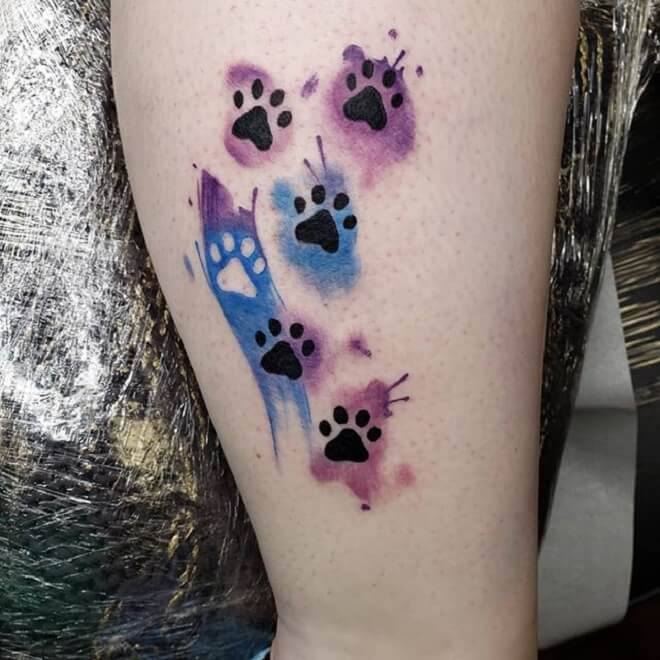 Footprint Tattoo Artist