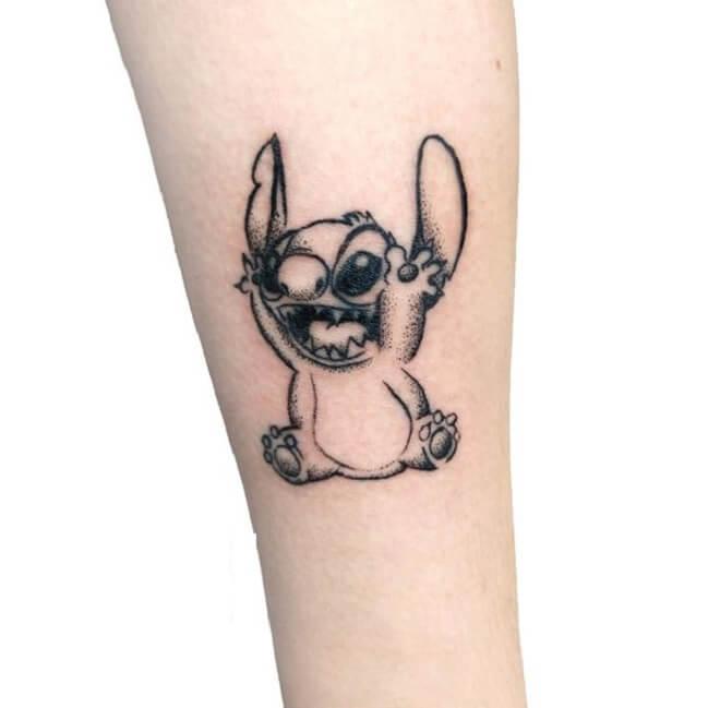 Fun Lilo and Stitch Tattoo