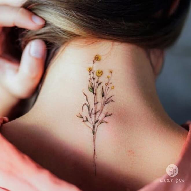 Top 30 Small Flower Tattoos Power Small Flower Tattoo Designs Ideas