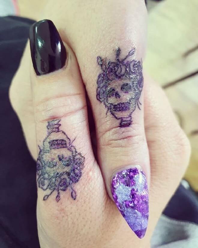 Girl Thumb Tattoo