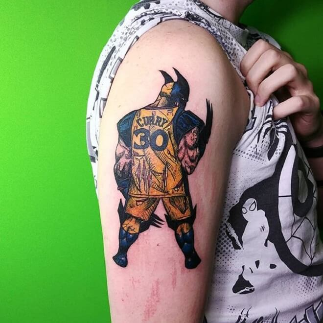 Girl Wolverine Tattoo