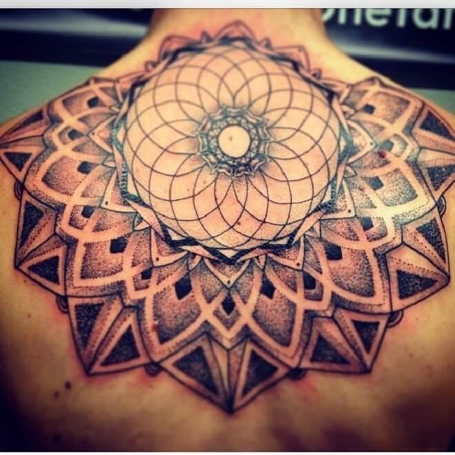 Incredible Upper Back Tattoo