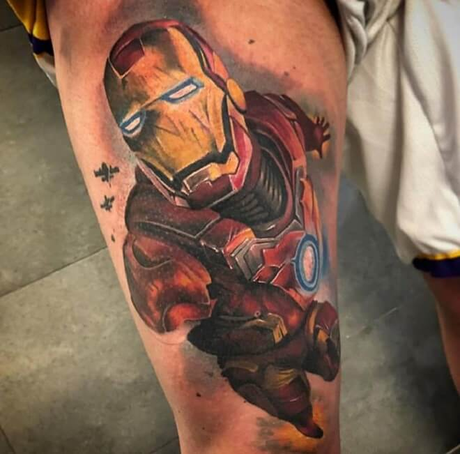 Ironman Tattoo Designs