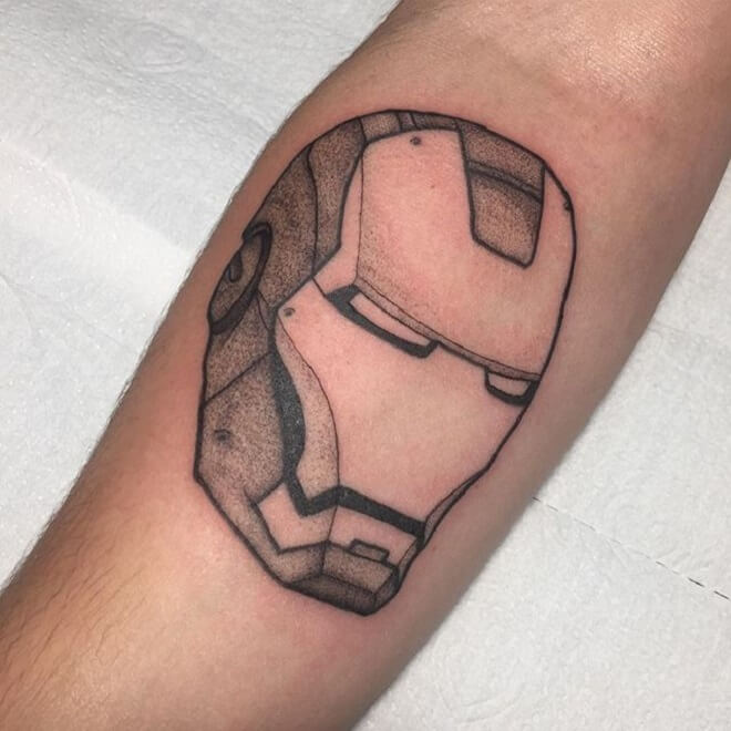 Ironman Tattoo Work
