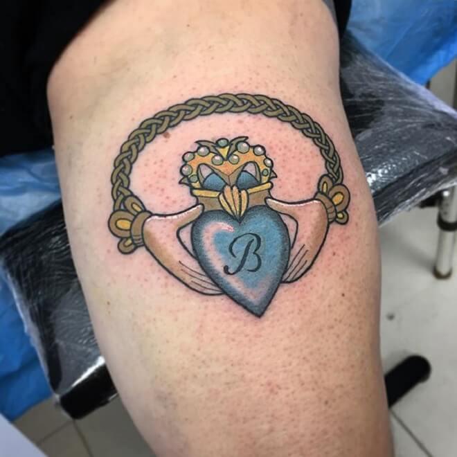 Irresistible Claddagh Tattoo