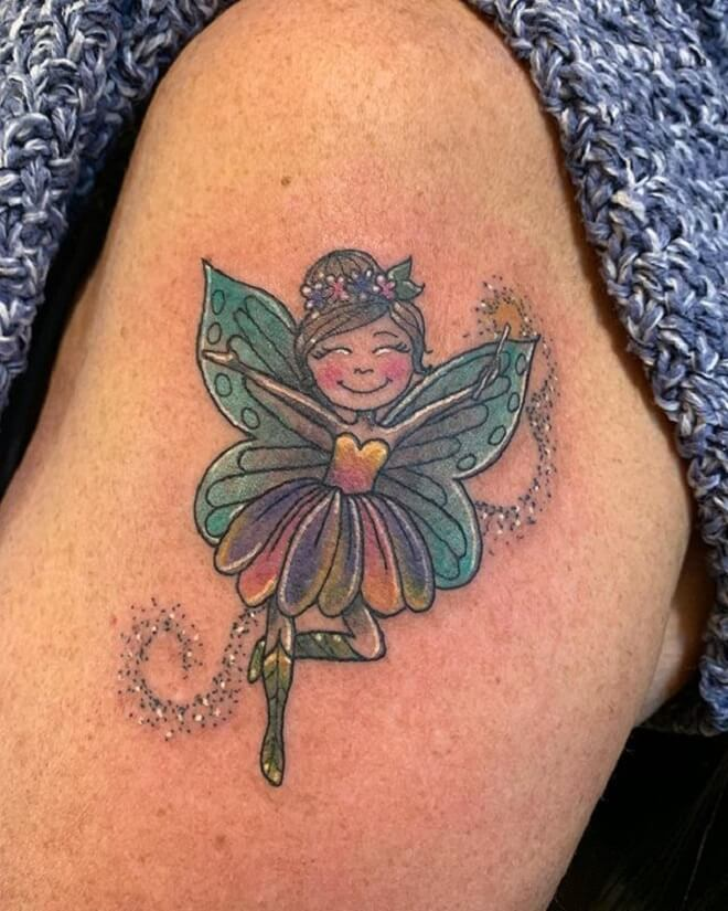 Lady Fairy Tattoo