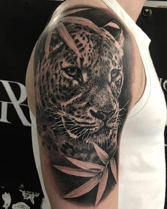 Leopard Tattoo Art
