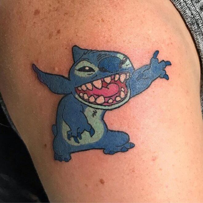 Lilo and Stitch Tattoo Art