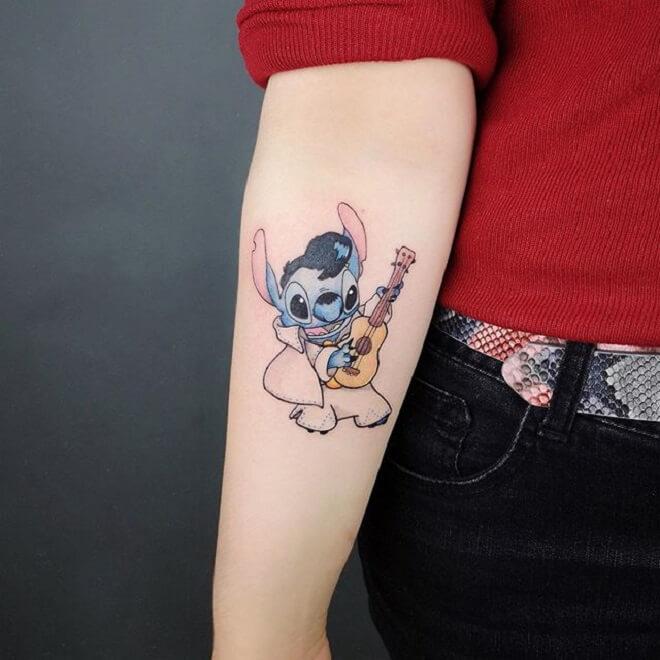 Lilo and Stitch Tattoo for Women