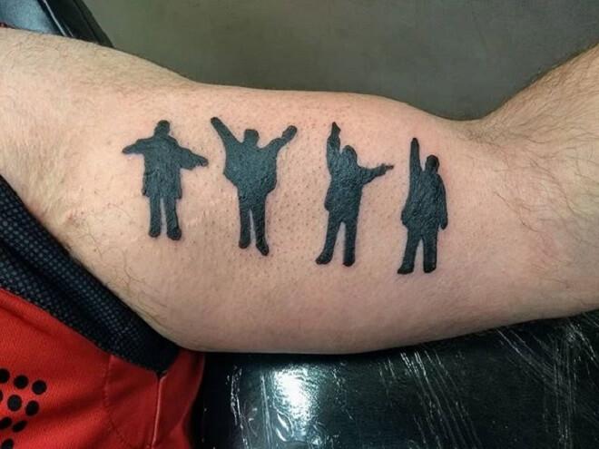 Men Body Tattoo