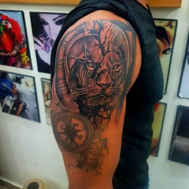 Men Tattoo Work