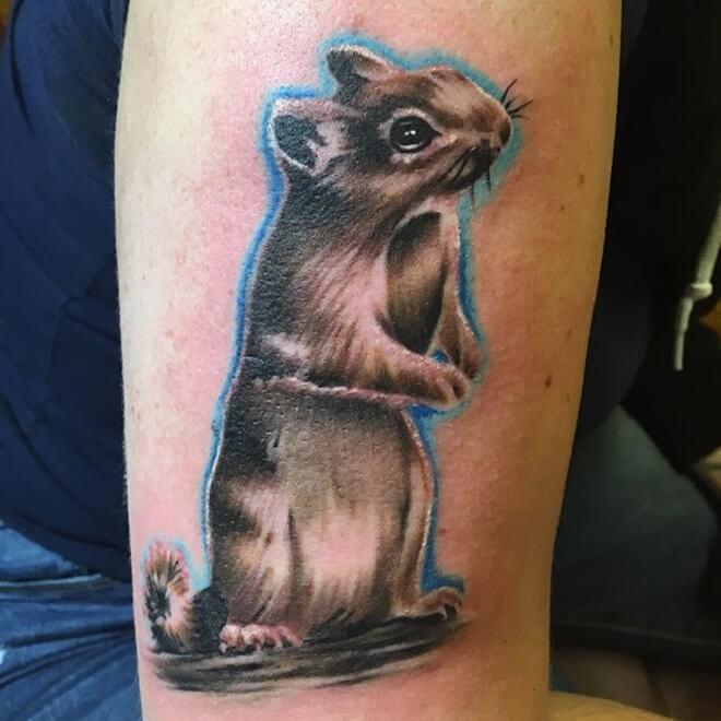 Nature Squirrel Tattoo