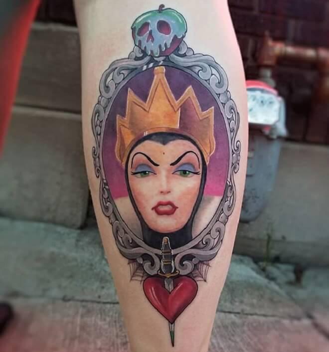 Neotraditional Filigree Tattoo