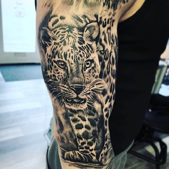 Perfect Leopard Tattoo