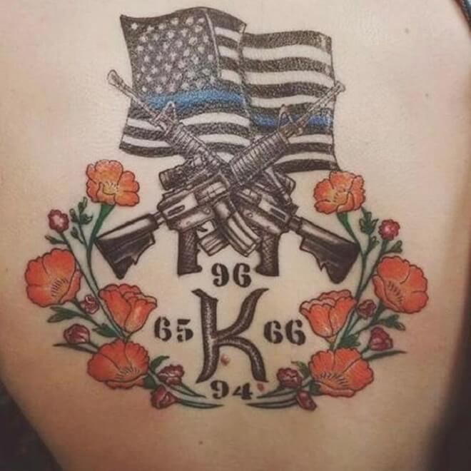 Perfect Patriotic Tattoos