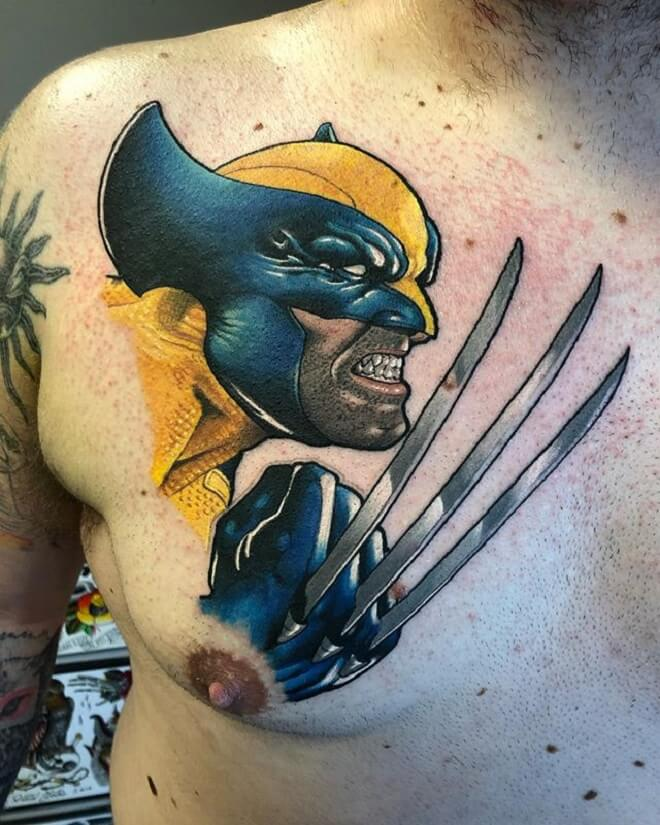 Perfect Wolverine Tattoo