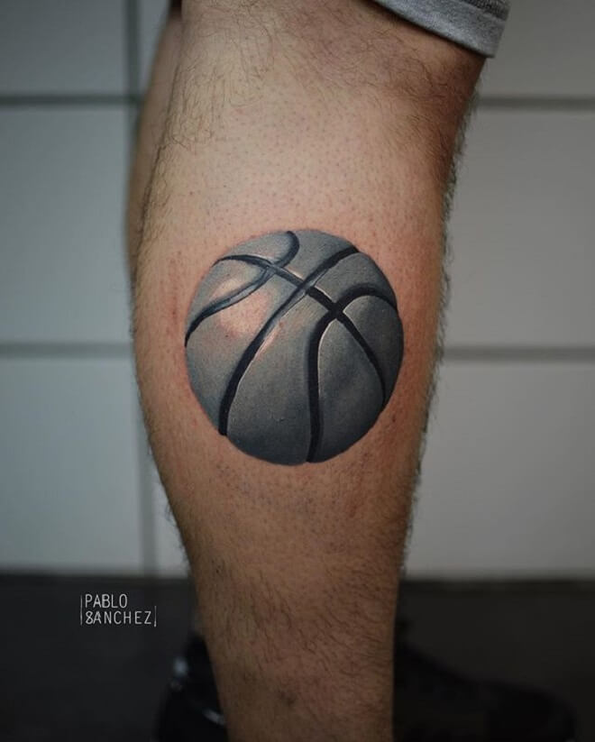 Popular Basketball Tattoo