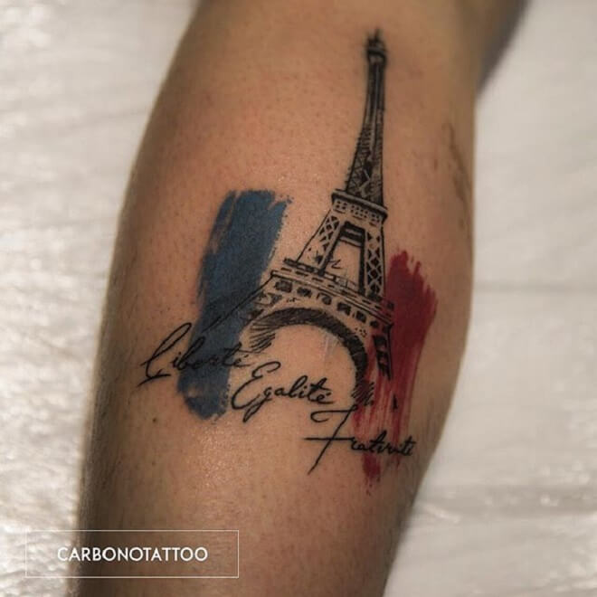 Quotes Eiffel Tower Tattoo