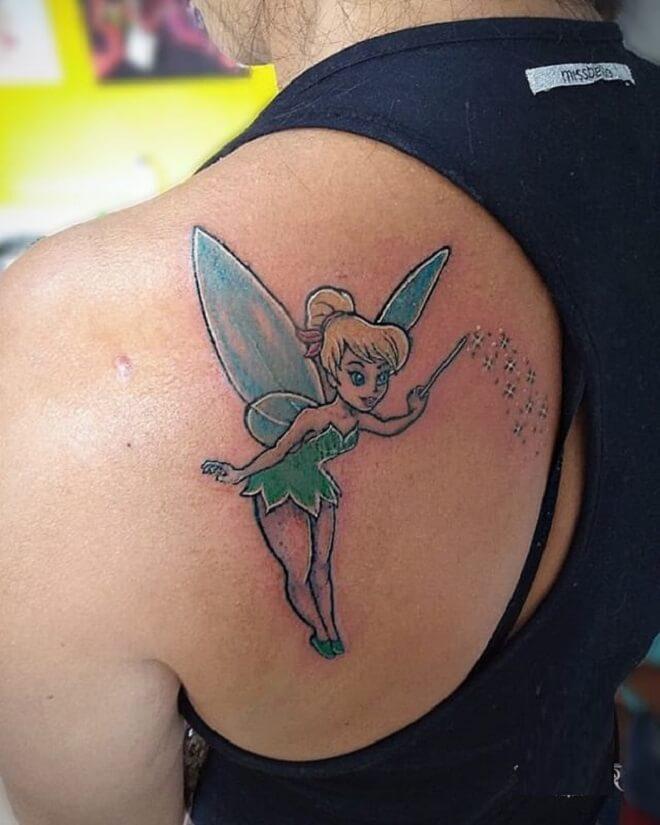 Retoque Tinkerbell Tattoo