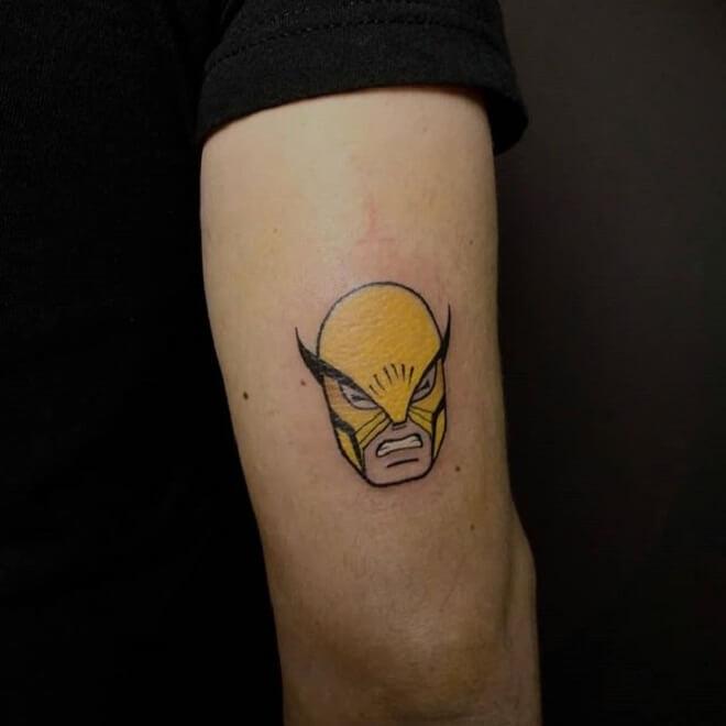 Small Wolverine Tattoo