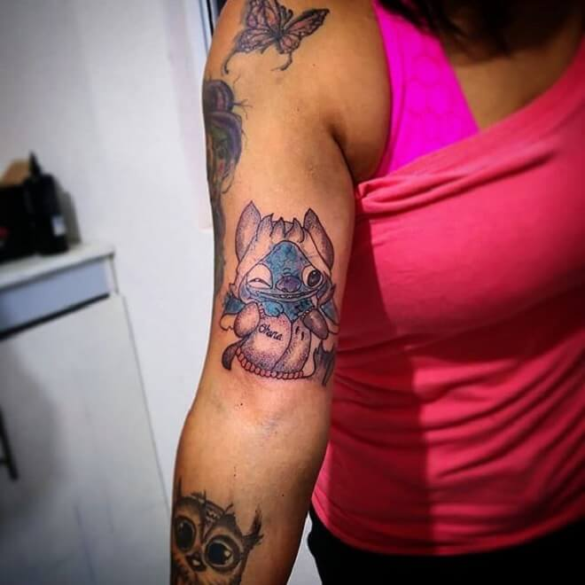 Stitch Tattoo for Women