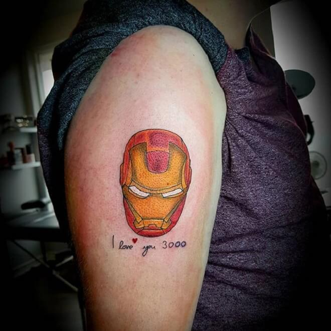Stunning Ironman Tattoo