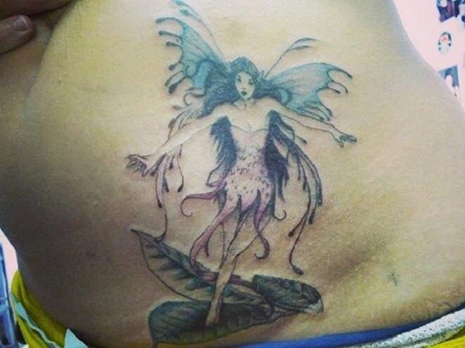 Super Fairy Tattoo