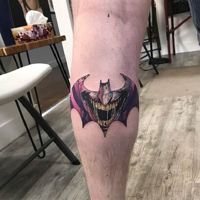 Superhero Batman Tattoo