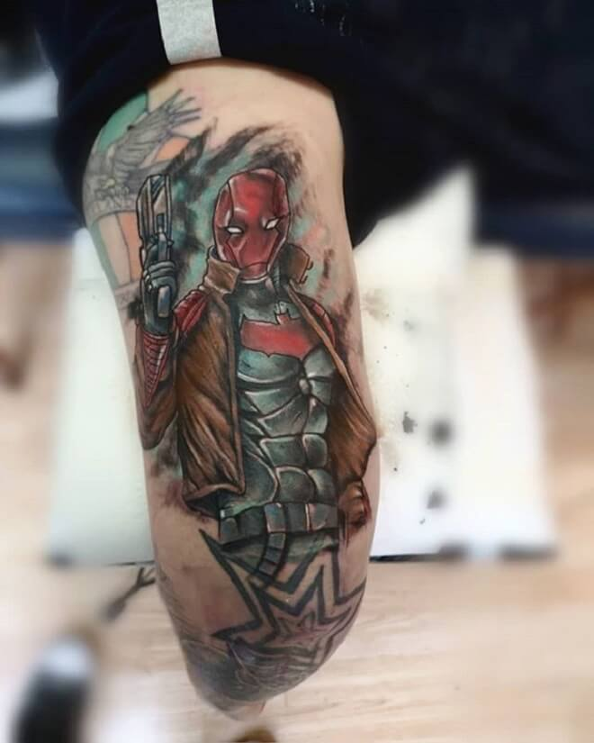 Superhero Tattoo Art
