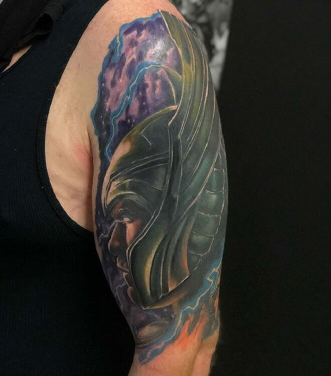 Superhero Thor Tattoo