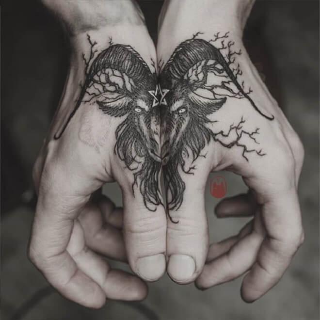 Thumb Black Tattoo