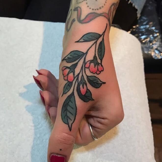 Thumb Traditional Tattoo